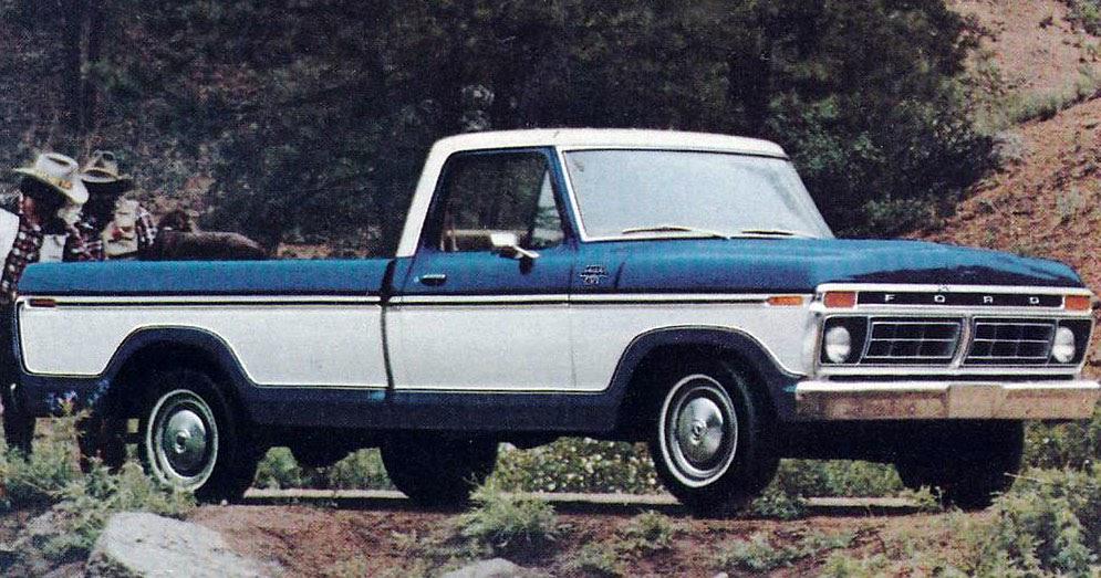 Transpress Nz 1977 Ford F 100 Ranger Xlt Pickup Truck