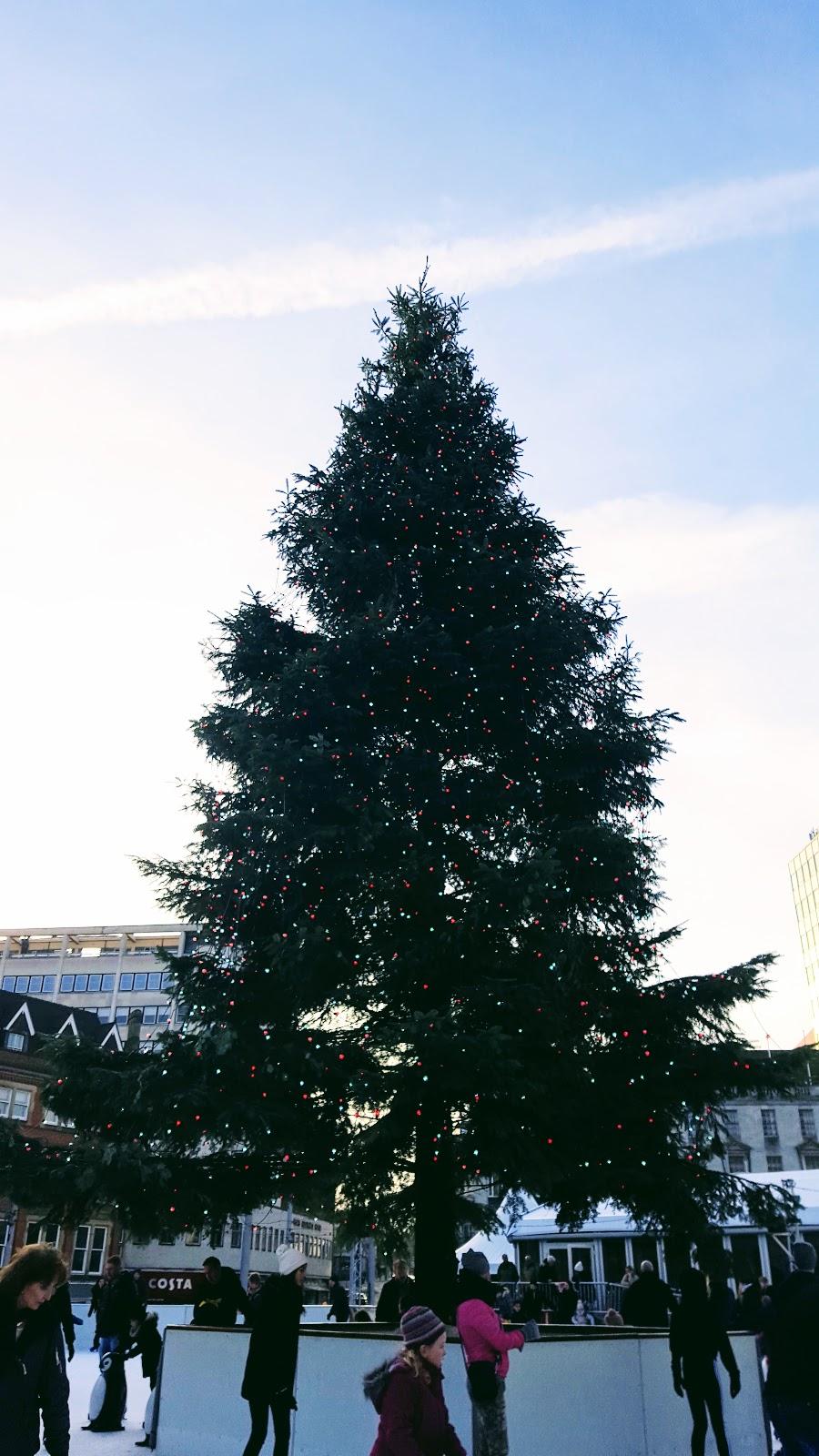 Nottingham Christmas Market: What I Wore
