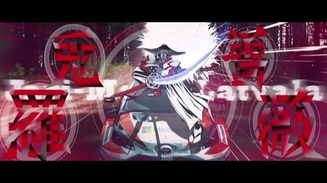 トヨタ、華麗なテクニックとジャパニメーションが融合した映像作品「VS SAMURAI羅兎薔薇」を公開。