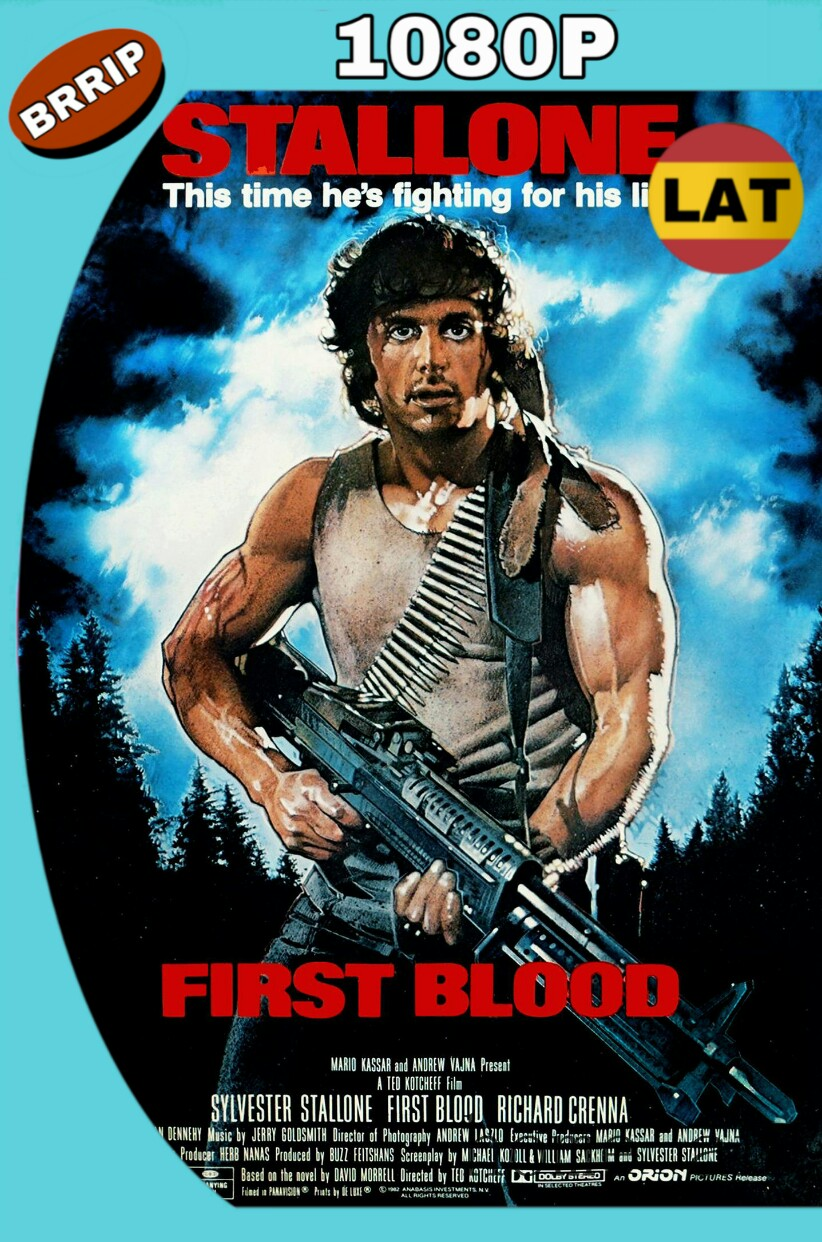 RAMBO (1982) BRRIP 1080P LATINO-INGLES MKV