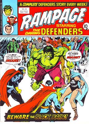 Rampage #20, the Defenders