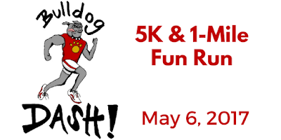 3rd annual Bulldog Dash 5K