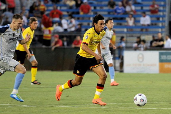 Wálter Restrepo was voted to the NASL's Best XI in 2012
