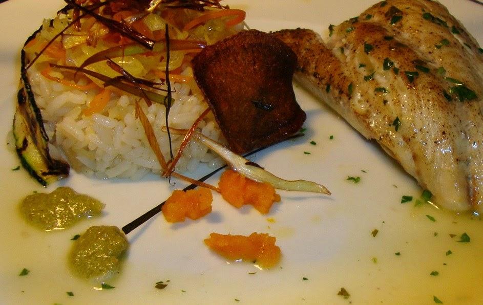 Un plat une histoire filet de lieu noir sauce bercy - Cuisiner filet de julienne ...