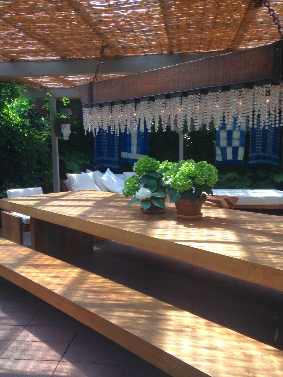 Sag Harbor House By P T Interiors With Images: Under The Pergola Post VI -- Beautiful Design Ideas From Urban Zen In Sag Harbor