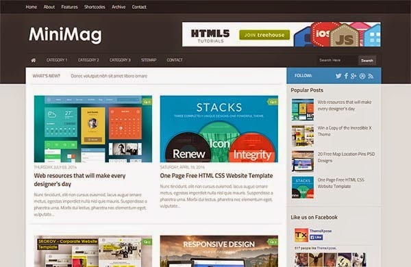 website templates for blogger