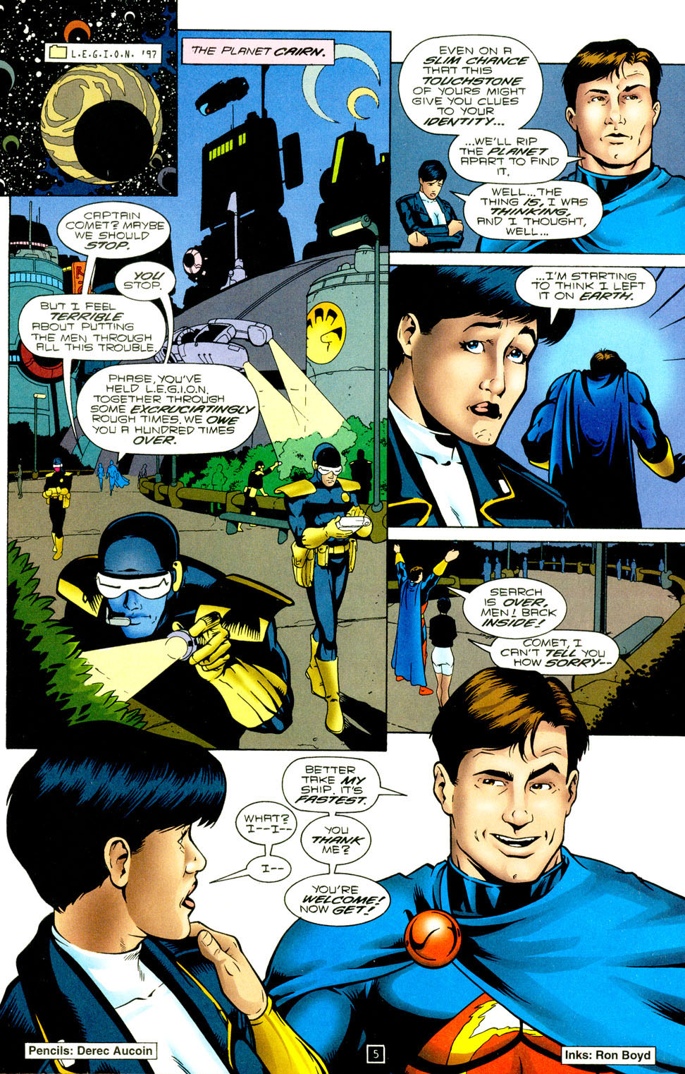 Legion of Super-Heroes (1989) 94 Page 5