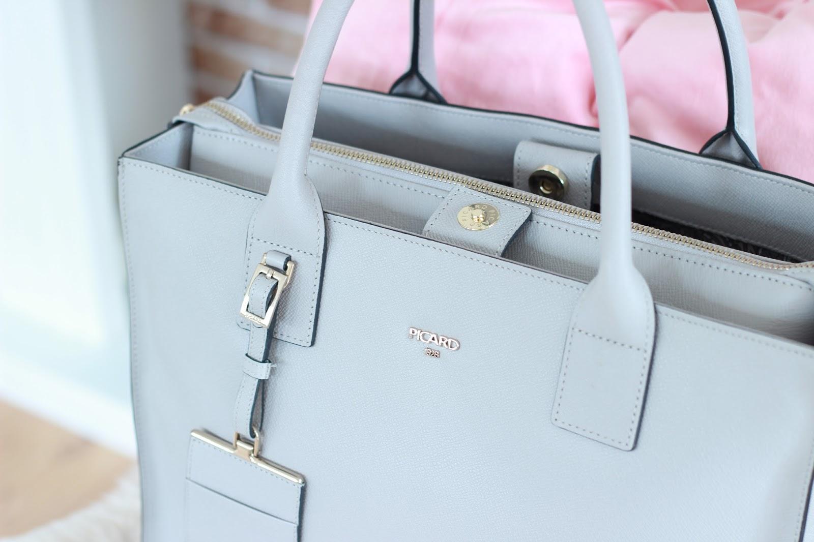 graue Tasche von Fashionblogger