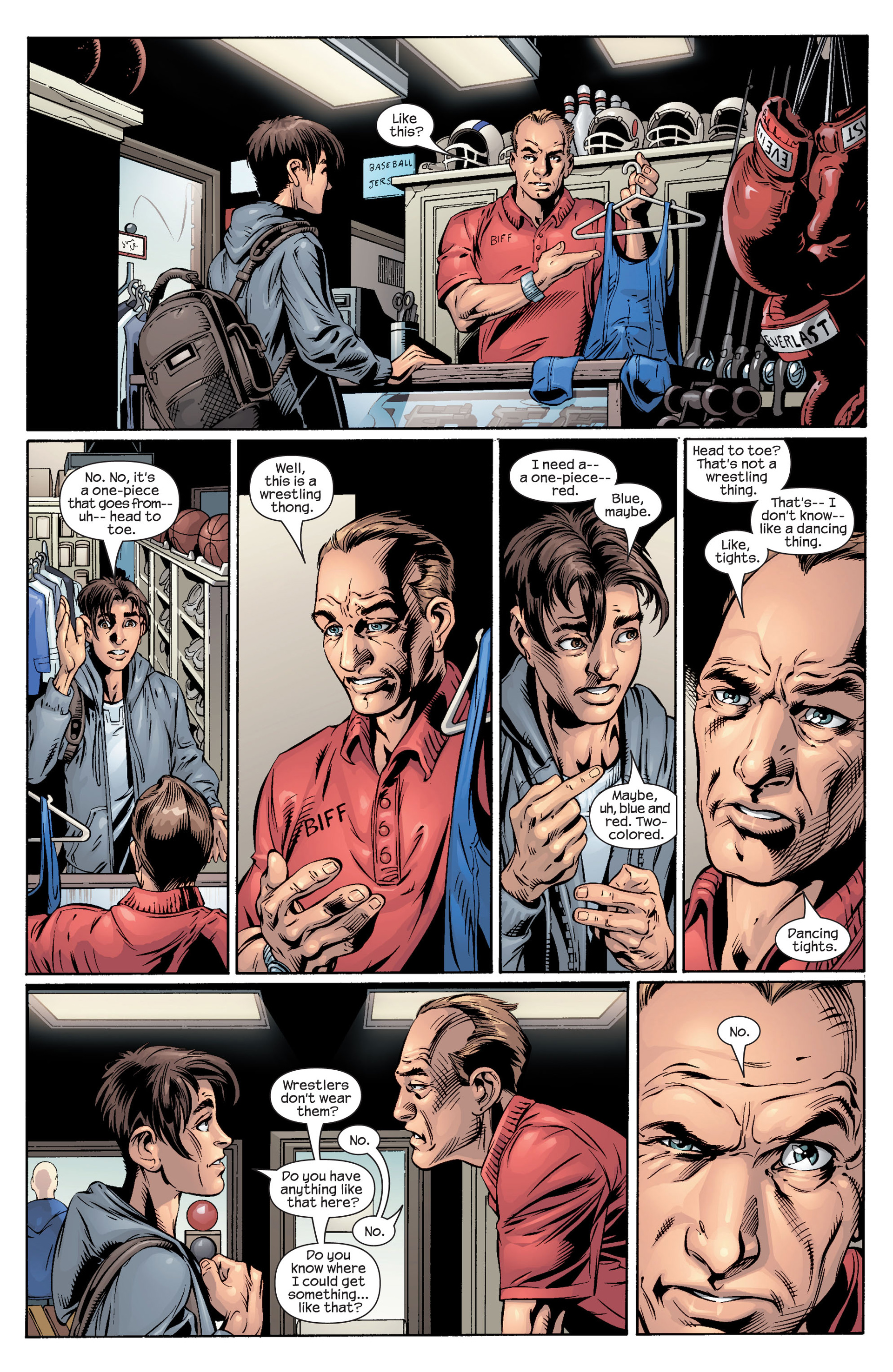 Read online Ultimate Spider-Man (2000) comic -  Issue #40 - 3
