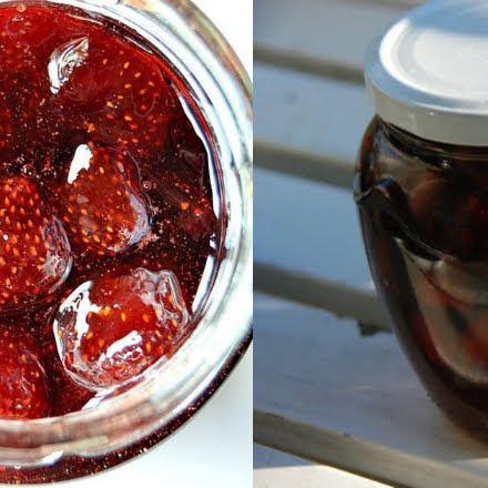 Geléia de morango incomum ...receita para geléia de morango
