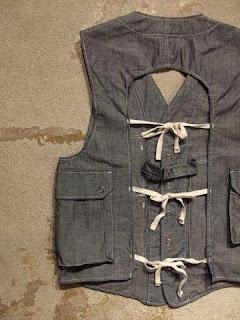 "Engineered Garments ""C-1 Vest"""