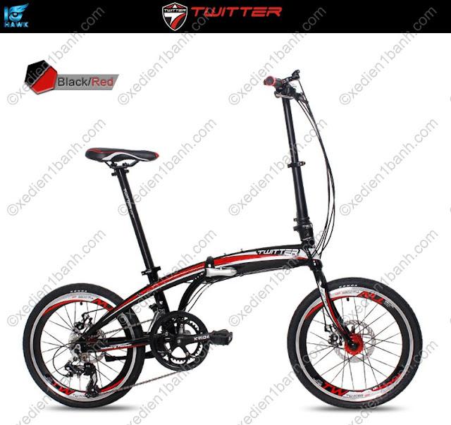Xe đạp gấp twitter 2088 của đức