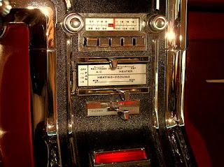1965 Ford Thunderbird Luxury Coupe Radio & AC Panel