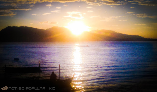Magnificent Sunset in Subic Beach near Oceanview Resort