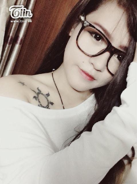 Hot girl, gái đẹp Việt Nam xăm ngực cực gợi cảm quá mức