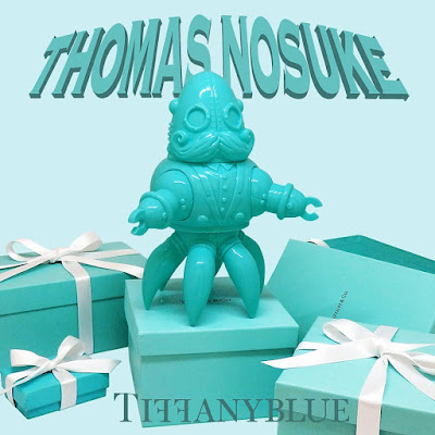 Thomas Nosuke Tiffany Blue Edition Vinyl Figure by Doktor A x Tomenosuke