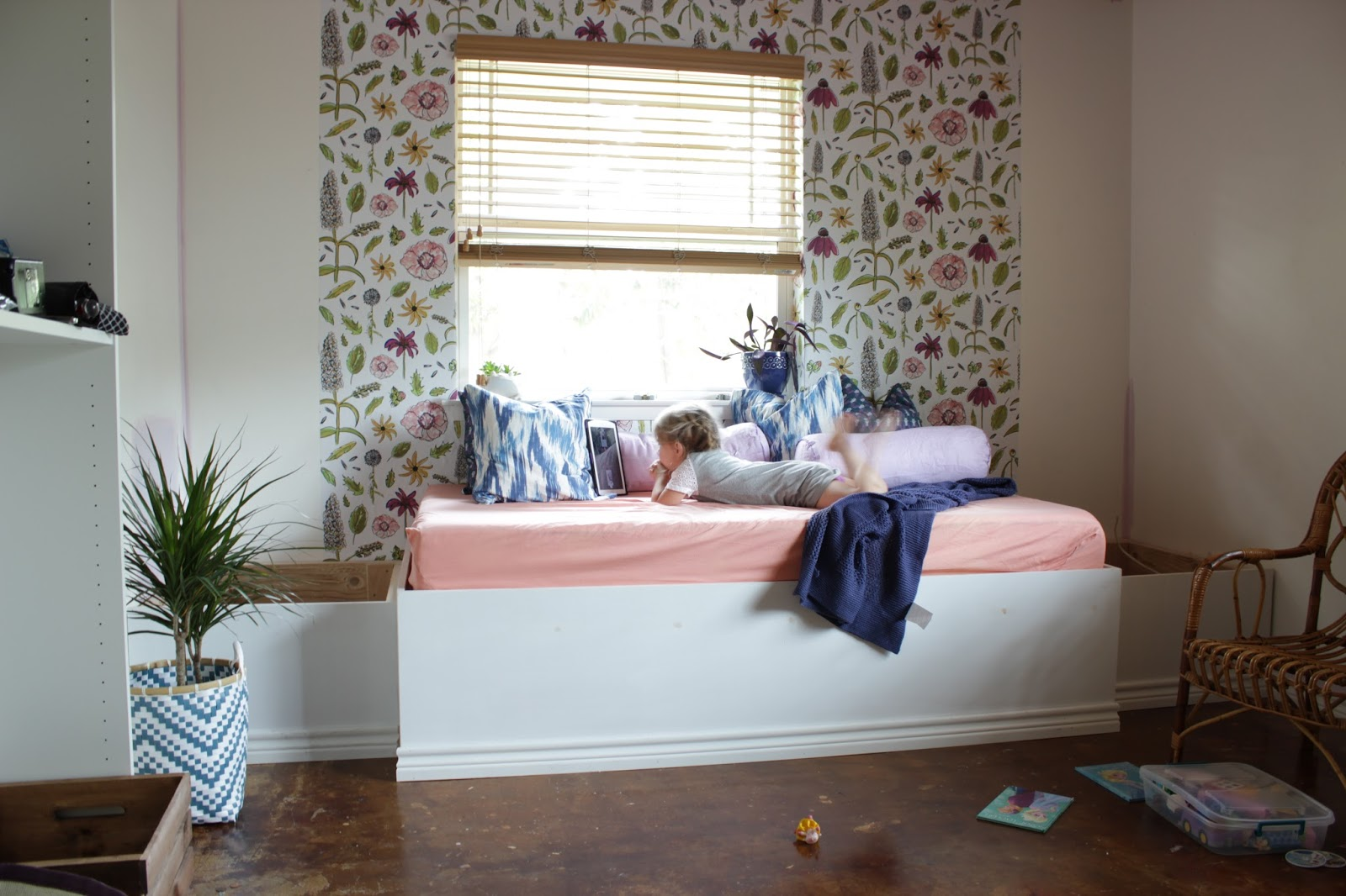 One Room Challenge Week 3: Playroom Makeover