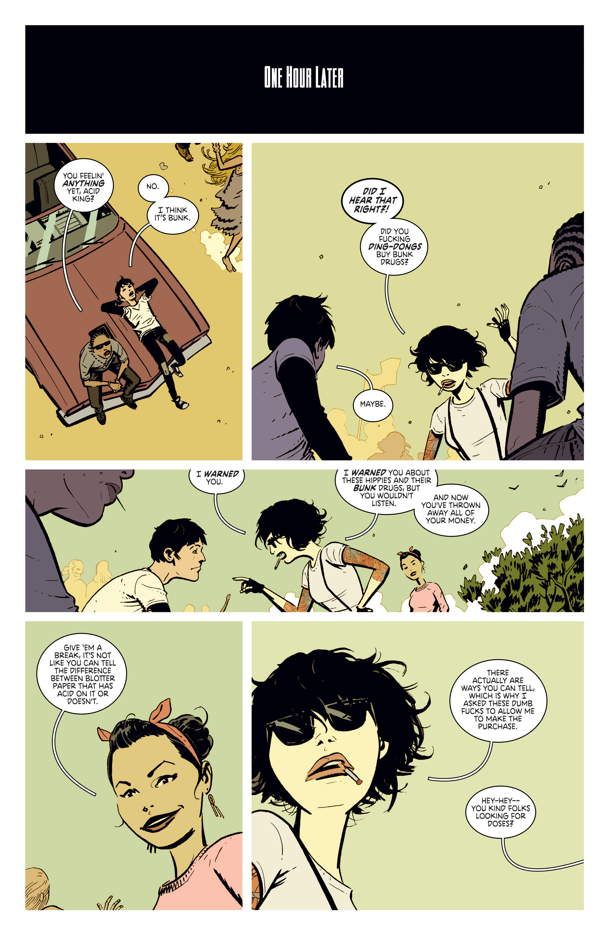 Read online Deadly Class comic -  Issue #4 - 16