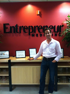 Entrepreneur Magazine features Billy Lowe in issue