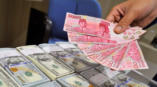 Pukul 09:00 WIB: Rupiah Melemah, Dekati Rp 14.200/US$