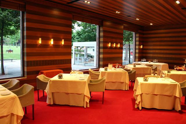 Aizian Restaurant, Melia Bilbao hotel - UK travel blog