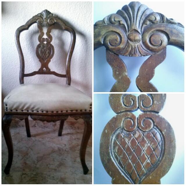 como transforma una silla antigua a moderna
