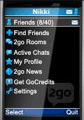 rename 2go friends username