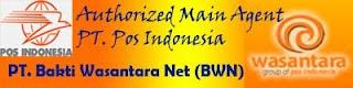 Logo Agenpos Main Agent PT BWN