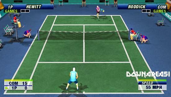 Virtua Tennis World Tour PSP Game
