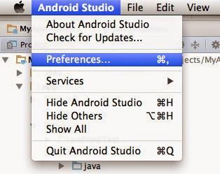 Gerard's Development Blog: Setting Android Studio to a Dark