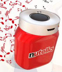 Logo Nutella è Musica: richiedi la cassa bluetooth come premio sicuro