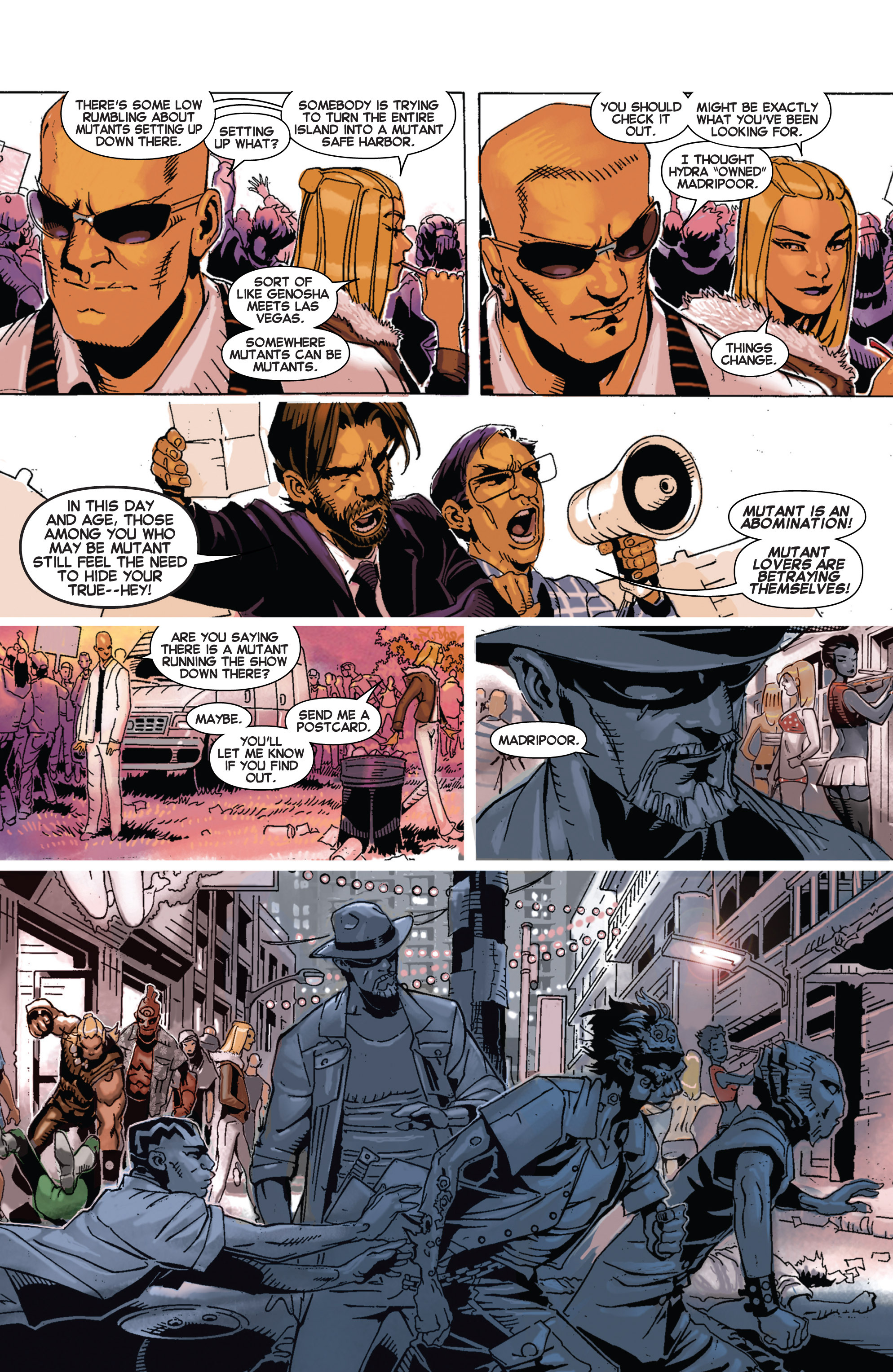 Read online Uncanny X-Men (2013) comic -  Issue # _TPB 3 - The Good, The Bad, The Inhuman - 50