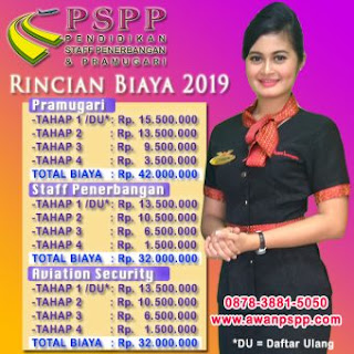 rincian biaya terbaru PSPP Jogja 2019