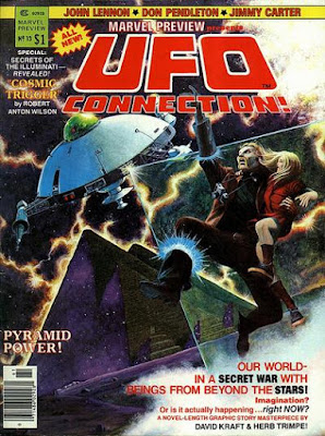 Marvel Preview #13, the UFO Connection
