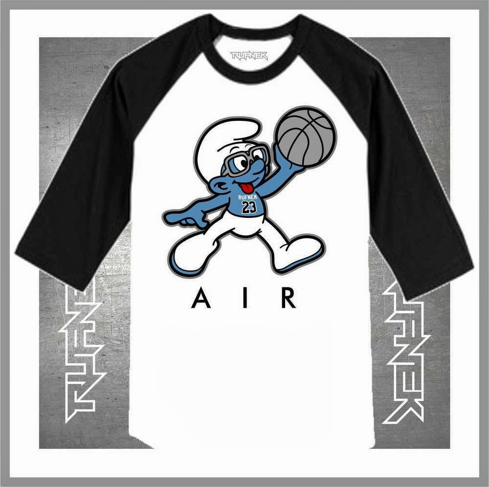 60cb289da56e53 Jordan Retro 3 Powder Blue Sneaker Tee Shirts Collection