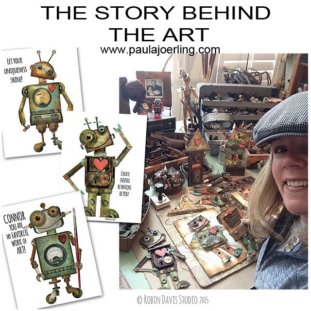 The story behind the art - Robin Davis Studio