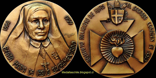 Medalla María de Jesús Sacramentado