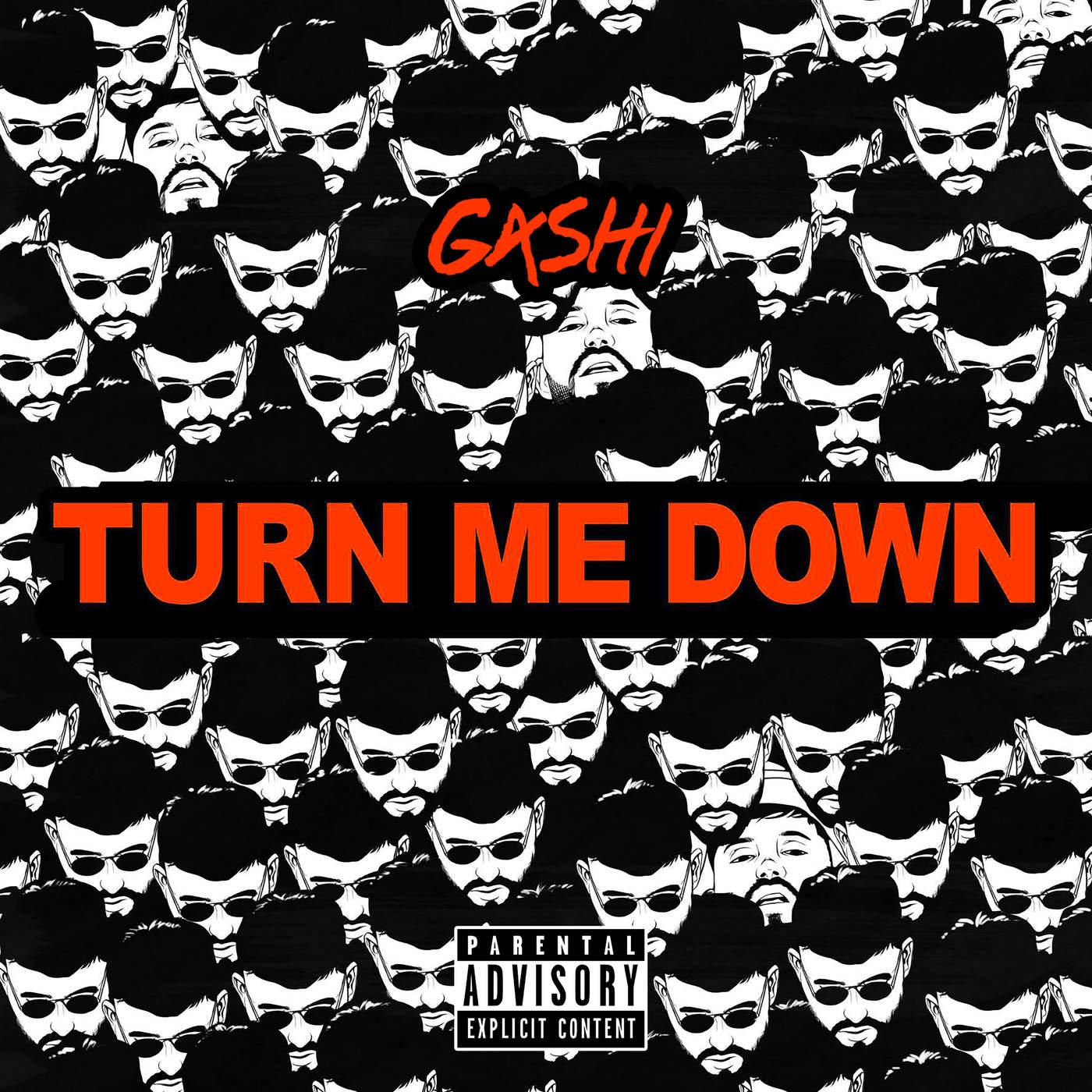 G4shi - Turn Me Down - Single Cover