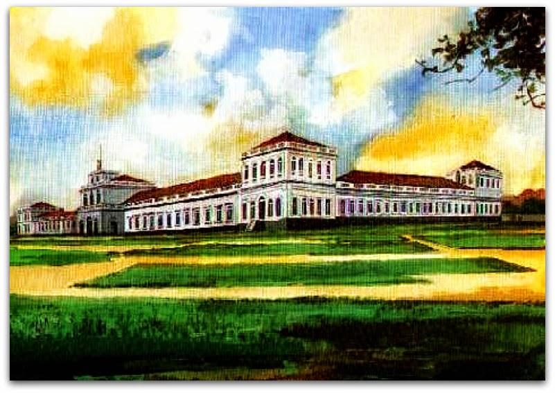 Escola Militar da Província do  Rio Grande do Sul, em 1880, em Porto Alegre