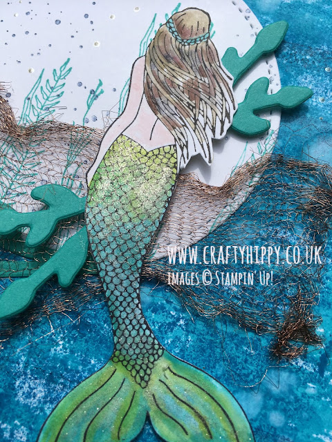 Magical Mermaid stamp set, Stampin' Up!