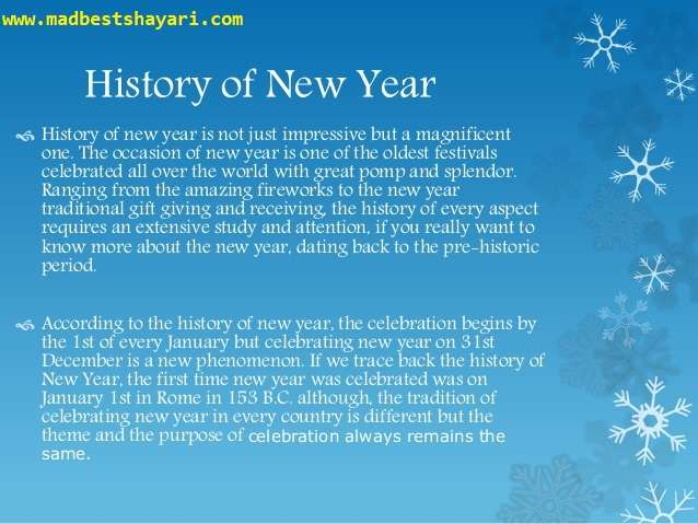 New Years History, history of new year, how i celebrate new year