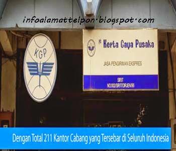 alamat kgp kerta gaya pusaka denpasar bali Alamat Ekspedisi Kerta Gaya Pusaka (KGP) Denpasar, Bali