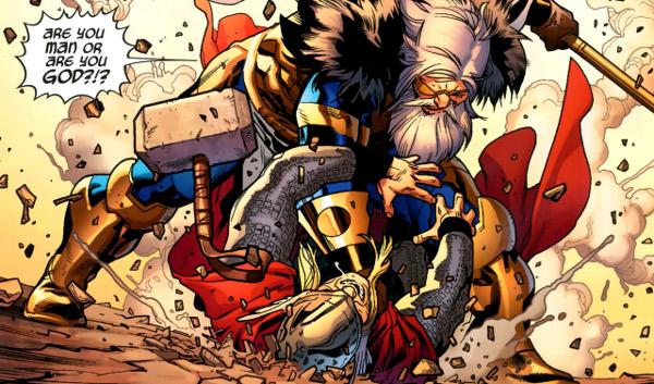 siapa odin adalah kekuatan odin marvel comics