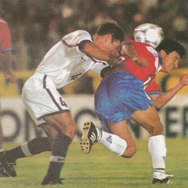 Chile y Estados Unidos en partido amistoso, 29 de enero de 2000
