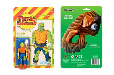 Toxic Crusader Variant The Toxic Avenger ReAction Retro Action Figure by Super7