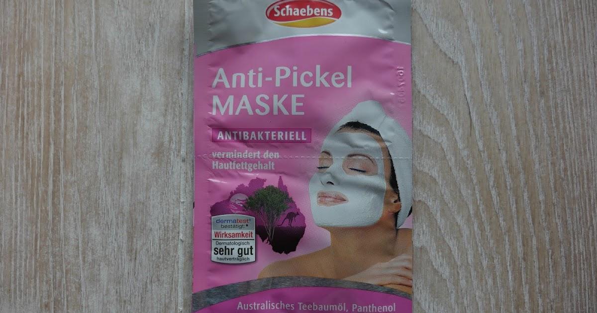 sahlata is curious review schaebens anti pickel maske antibakteriell. Black Bedroom Furniture Sets. Home Design Ideas