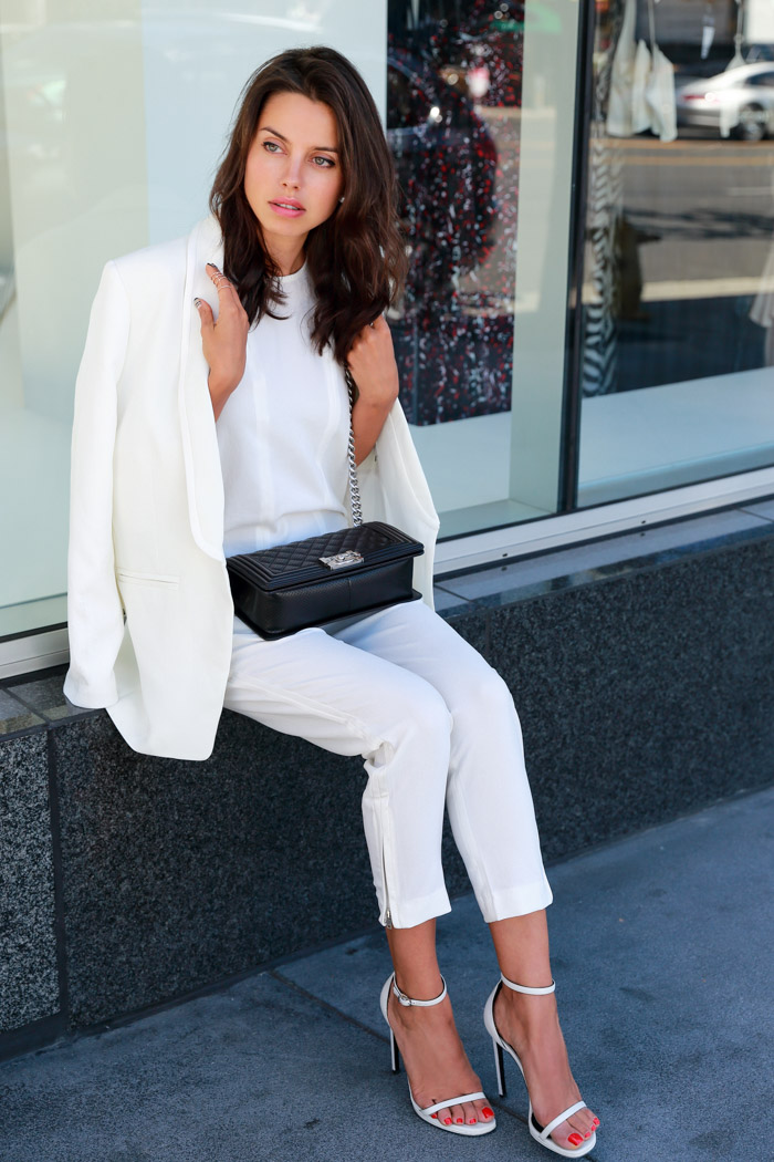 Vivaluxury Fashion Blog By Annabelle Fleur Overall White