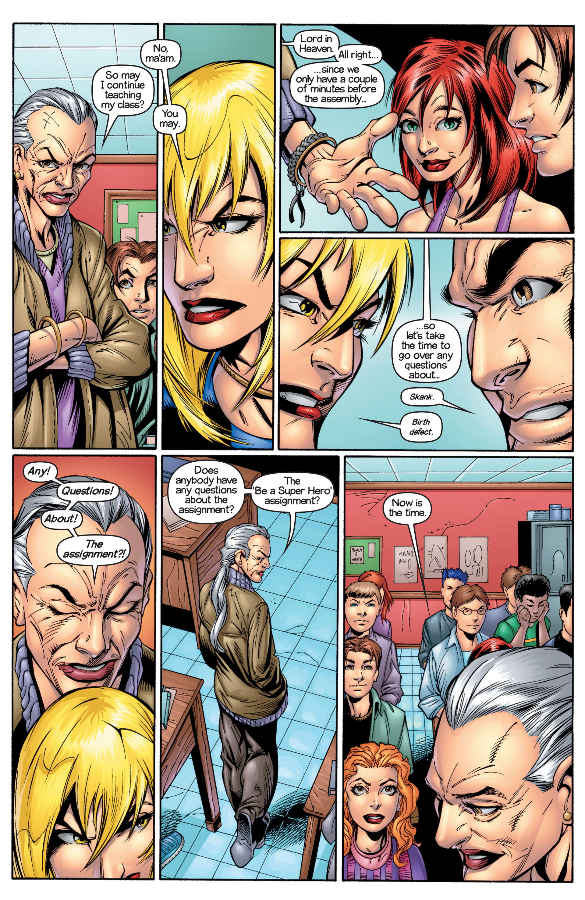 Read online Ultimate Spider-Man (2000) comic -  Issue #17 - 8