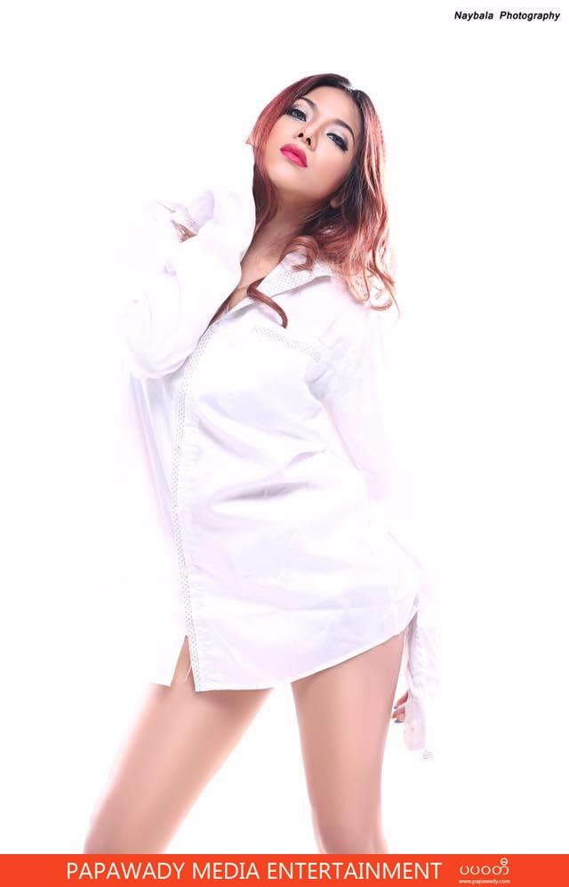 White Angel Look Model Sandy In Amazing Photoshoot