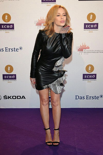 Kylie Minogue at Echo Awards 2014 ceremony